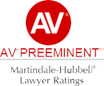 AV Preeminent Martindale Hubbell Lawyer Ratings