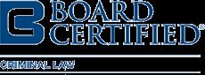 Board Certified Criminal Law